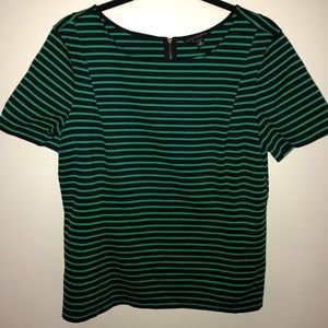 Banana republic striped blouse